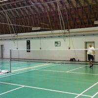 Photo taken at Badminton na Výstavišti by Martin K. on 1/18/2014