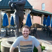 Photo taken at Shoeless Joe Jackson Statue by Jeff N. on 3/17/2013
