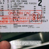 Photo taken at Golden Screen Cinemas (GSC) by ƥKasvin D. on 4/12/2017