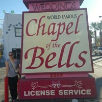 Photo taken at World Famous Chapel of the Bells by S W. on 2/13/2016
