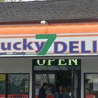 Photo taken at Lucky 7 Deli by Robert C. on 4/18/2013