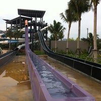 Photo taken at Black Mountain Waterpark by Ling M. on 1/5/2013