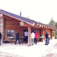 Photo taken at Refuge De Bottens by Chris C. on 9/27/2012