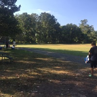 Photo taken at Bluemont Park by Jerry B. on 9/18/2015