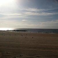 Photo taken at Buckroe Beach by kristie .p. h. on 7/13/2013