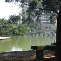 Photo taken at Sihai Park by Omara on 10/7/2013
