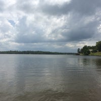 Photo taken at Lake Tobosofkee by Olivia H. on 5/29/2015