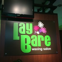 Photo taken at Lay Bare Waxing Salon by Jayria Faith D. on 1/20/2016