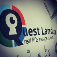 Photo taken at Quest Land / Escape room by Rafail N. on 10/21/2015