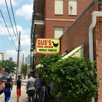 Photo taken at Gus's World Famous Fried Chicken by Clayton D. on 5/20/2013