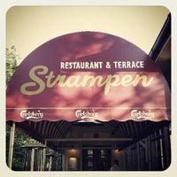 Photo taken at Strampen Restaurant & Terrace by Sebastian S. on 8/3/2013