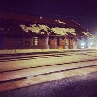 Photo taken at MBTA Attleboro Station by Frank P. on 2/7/2014