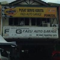 Photo taken at FAG Fazli Auto Garage by Mohd Salehuddin M. on 12/19/2015