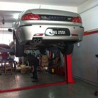 Photo taken at FAG Fazli Auto Garage by Mohd Salehuddin M. on 10/10/2013