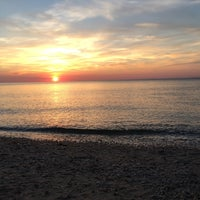 Photo taken at Southold Beach by Rebecca S. on 6/20/2016