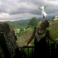Photo taken at Monumen Yesus Memberkati by Anthi A. on 8/22/2012