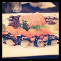 Photo taken at River Japanese Cuisine by Stephanie C. on 11/30/2011