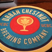 Photo taken at Urban Chestnut Brewing Company by Ryan H. on 3/27/2012