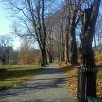 Photo taken at Halifax Public Gardens by Kristy R. on 11/19/2011