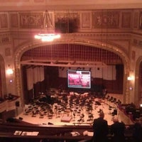 Photo taken at The Max M. Fisher Music Center by Dixon C. on 3/11/2012