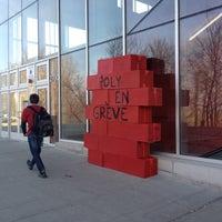 Photo taken at École Polytechnique de Montréal by Maxime C. on 3/22/2012