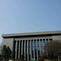 Photo taken at National Assembly Library of Korea by EuiZa W. on 4/1/2012