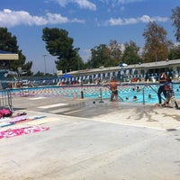 Photo taken at Van Nuys Sherman Oaks Pool by deebs on 8/4/2012