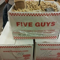 Photo taken at Five Guys by Staxx M. on 7/21/2012