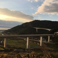 Photo taken at 千綿大橋 by Kenny's S. on 12/29/2016