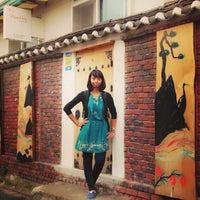 Photo taken at Bongsan Guesthouse by Ruri H. on 6/12/2013