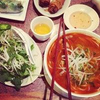 Photo taken at Hoa Bien Vietnamese Restaurant by Jake L. on 1/22/2014