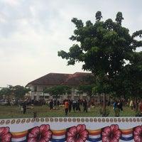 Photo taken at Kompleks Islam Jubli Perak Sultan Ismail Petra by Mat Deen on 9/26/2015