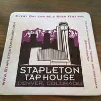 Photo taken at Stapleton Tap House by Nate H. on 4/21/2016