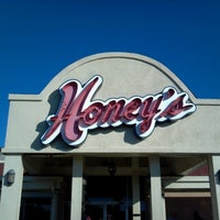 Photo taken at Honey's Restaurant & Catering by Randy H. on 10/21/2012