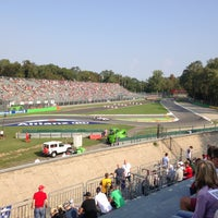 Photo taken at Autodromo Nazionale di Monza by Greg S. on 9/7/2013