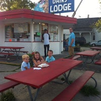 Photo taken at The Dairy Lodge by Kim C. on 8/3/2013