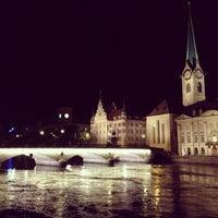 Photo taken at Hotel Continental Zurich by Gabriela B. on 7/12/2013