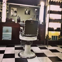 Photo taken at Grand Royal Barbers by Colin on 12/29/2013