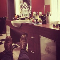 Photo taken at Grand Royal Barbers by Colin on 8/30/2013