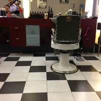 Photo taken at Grand Royal Barbers by Colin on 8/2/2013