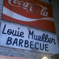 Photo taken at Louie Mueller Barbecue by Robert E. on 5/7/2013