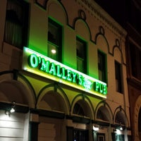 Photo taken at O'Malley's Stage Door Pub by Robert E. on 10/29/2013