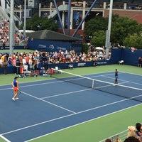Photo taken at Court 12 - USTA Billie Jean King National Tennis Center by Rye R. on 9/1/2016