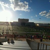 Photo taken at Leo Buckley Stadium by Adam W. on 10/6/2016