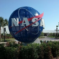 Photo taken at Kennedy Space Center Visitor Complex by Andres C. on 3/29/2013