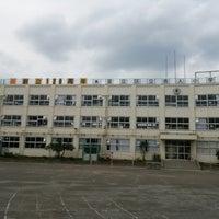 Photo taken at 足立区立 舎人小学校 by wakochan on 6/23/2013