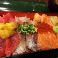Photo taken at Sushi Sanrikumae by wakochan on 8/14/2017
