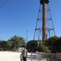 Photo taken at Sanibel Island Lighthouse by Andie on 11/24/2012
