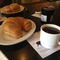 Photo taken at Gaulart & Maliclet French Café Fast and French Inc. by Sarah W. on 9/29/2012