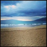 Photo taken at Kamaole Beach Park I by Todd H. on 5/21/2013